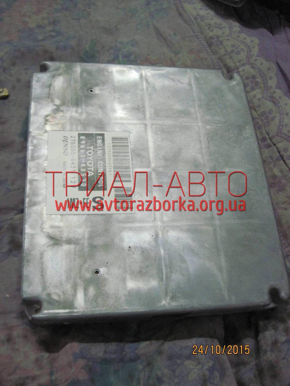 Блок управления двигателем на Lexus RX 2003-2009 г.в.