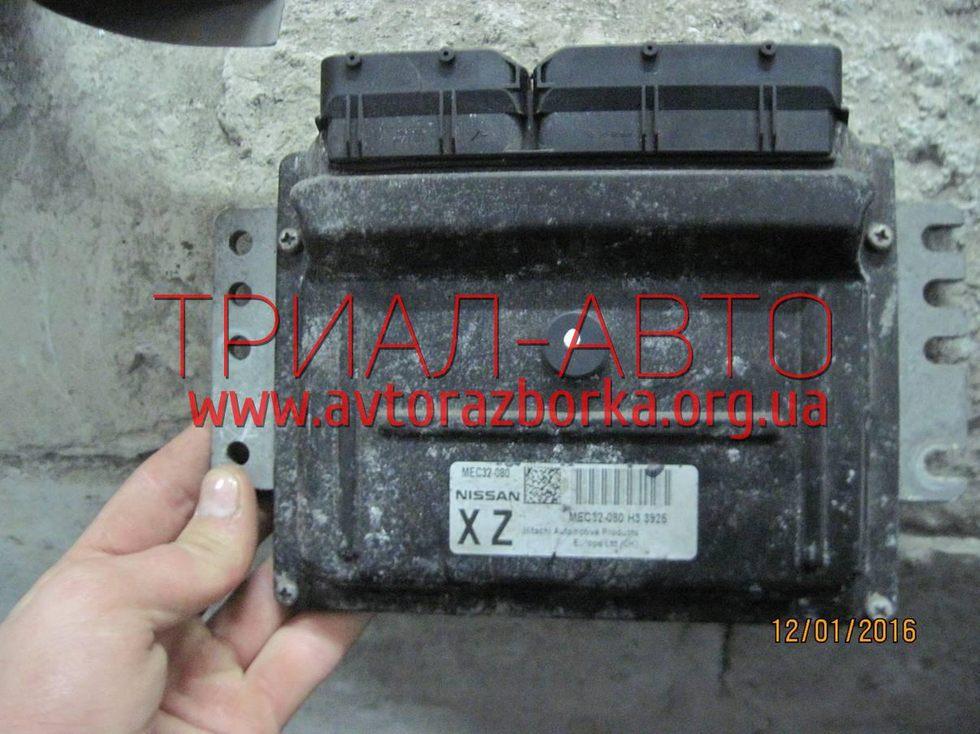 Блок управления двигателем на Micra 2005-2010 г.в.