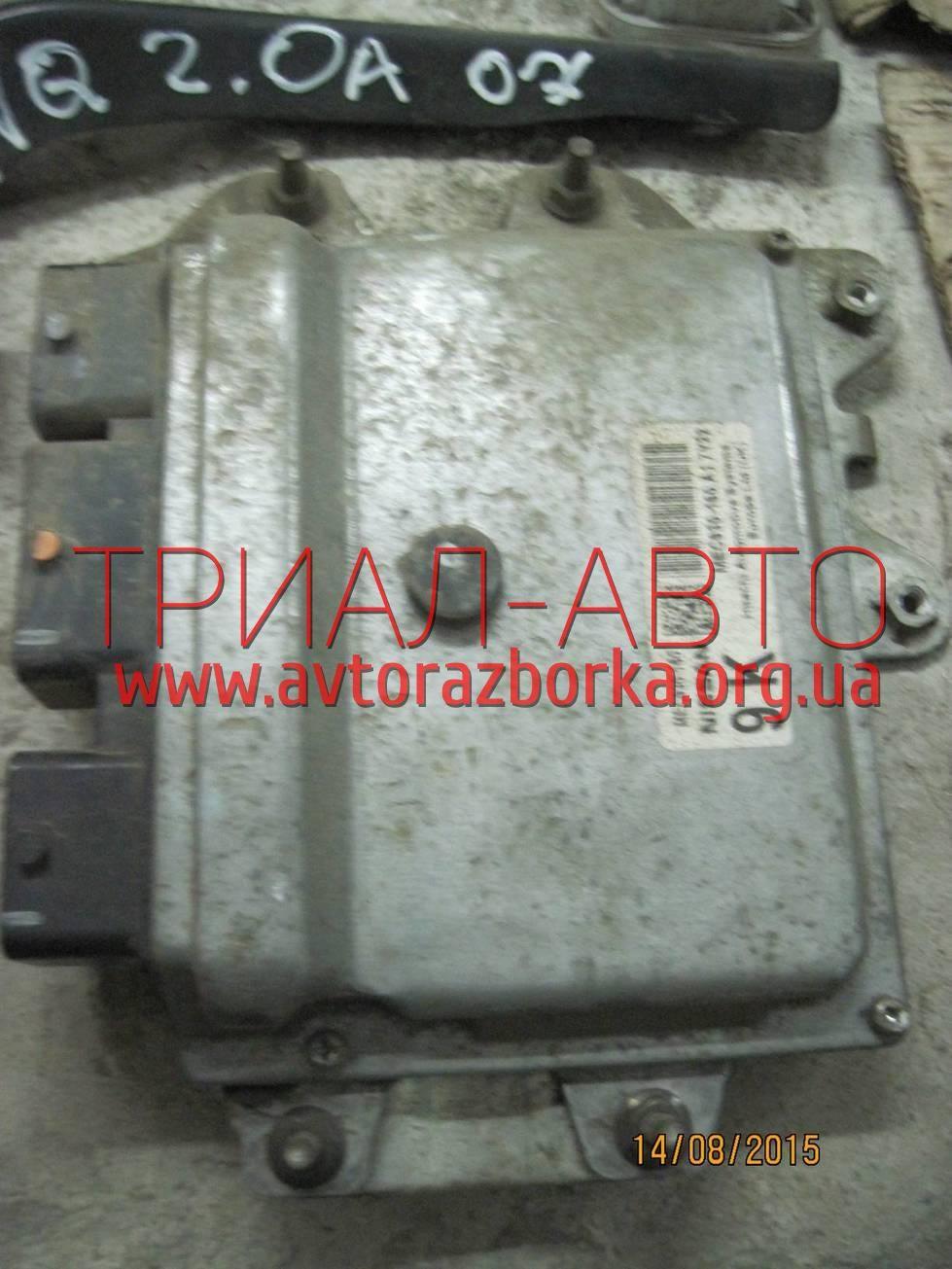 Блок управления двигателем на Qashqai 2007-2013 г.в.