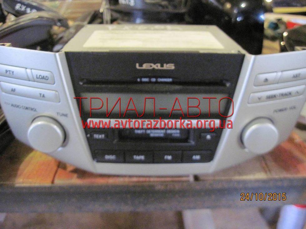 Магнитофон на Lexus RX 2003-2009 г.в.
