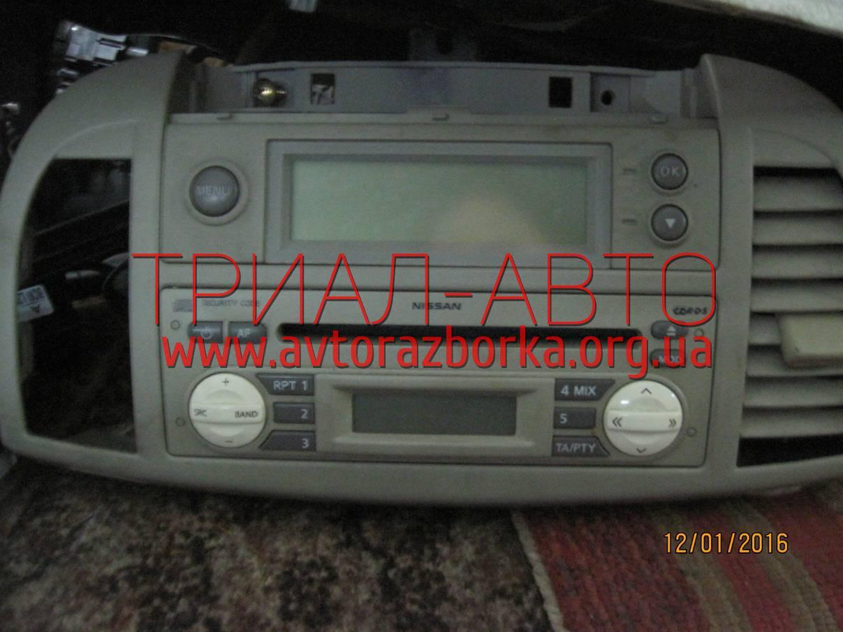 Магнитофон на Micra 2005-2010 г.в.