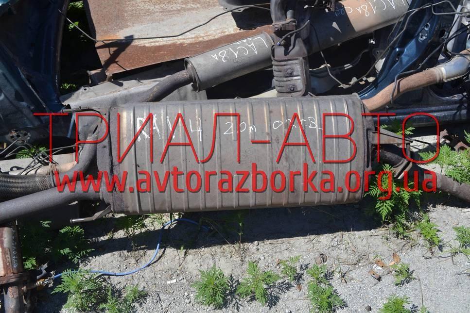 Глушитель передний на RAV 4 2006-2012 г.в.