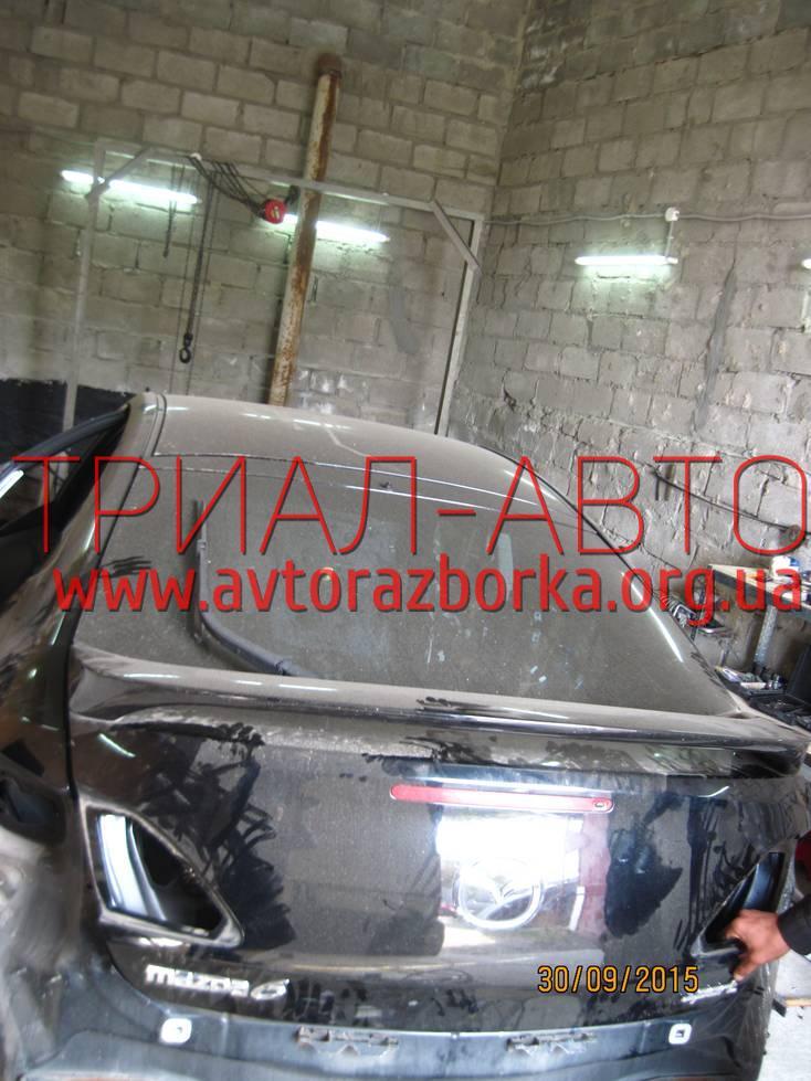 Крышка багажника на Mazda 6 2008-2012 г.в.