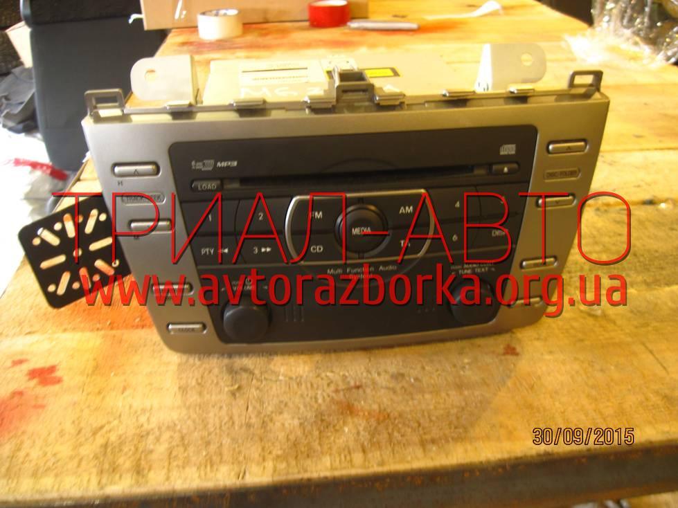 Магнитофон на Mazda 6 2008-2012 г.в.