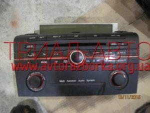 Магнитофон на Mazda 3 2003-2009 г.в.