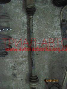 Полуось передняя правая на Qashqai 2007-2013 г.в.
