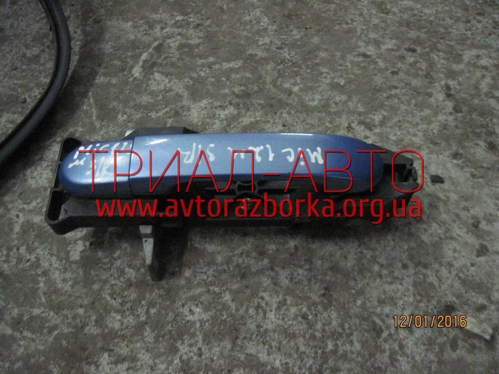 Ручка двери внешняя на Micra 2005-2010 г.в.