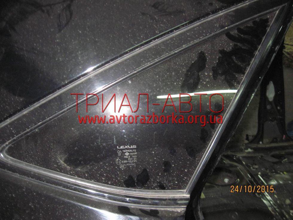 Стекло боковое заднее в кузов  на Lexus RX 2003-2009 г.в.