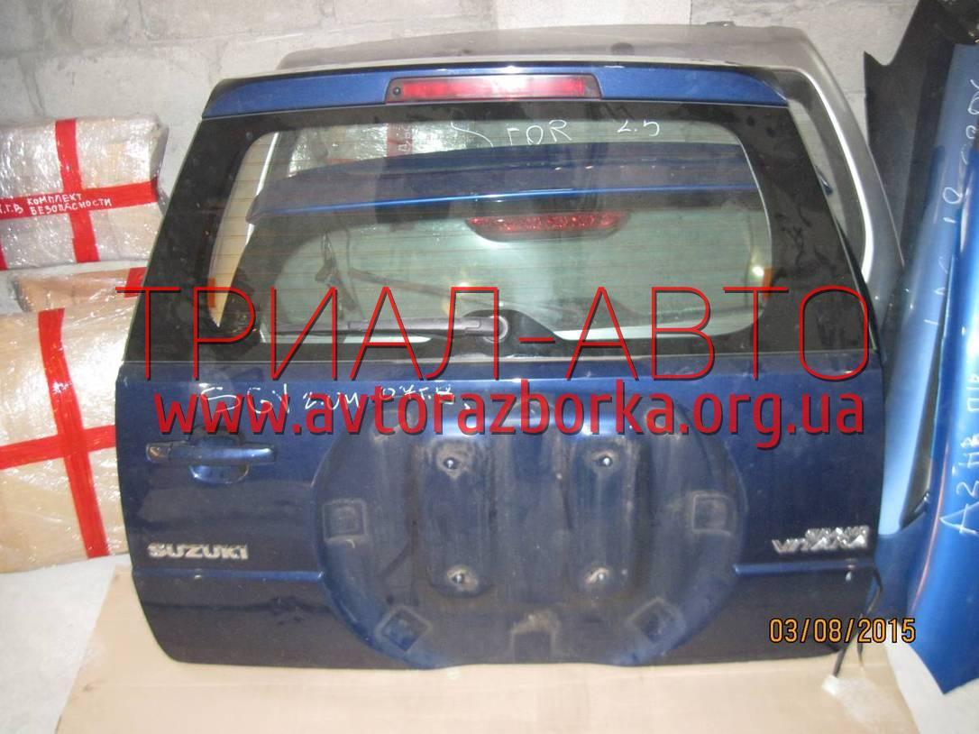 Крышка багажника на Grand Vitara 2006-2013 г.в.