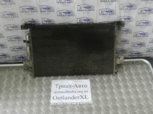 Радиатор кондиционера на Outlander XL 2006-2012 г.в.