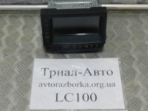 Монитор на Land Cruiser 100 1998 — 2006 г.в.