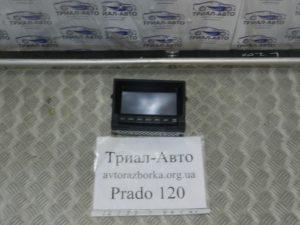 Монитор на PRADO 120 2003 — 2009 г.в.