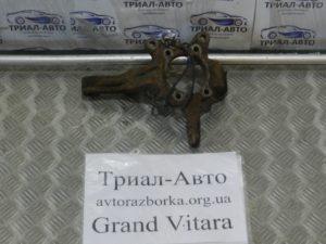 Цапфа задняя без ступицы на Grand Vitara 2006-2013 г.в.