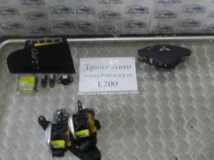 Комплект безопасности полный на L200 2006-2012 г.в.