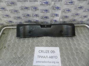 Накладка задней панели на Cruze 2009-2016 г.в.