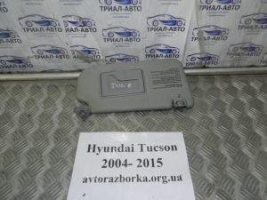 Козырек правый на Tucson 2004-2012 г.в.