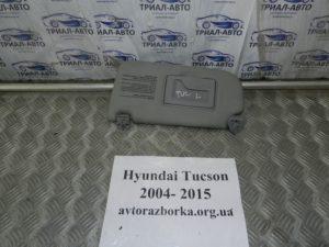 Козырек левый на Tucson 2004-2012 г.в.