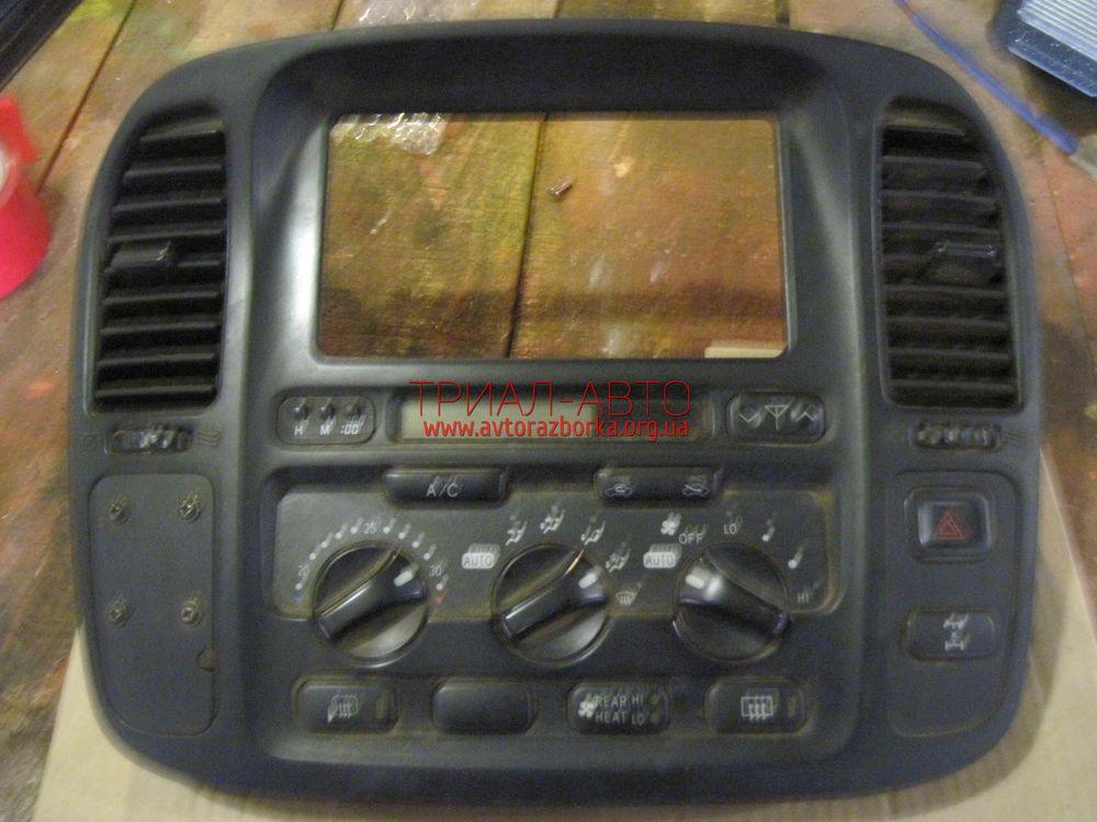 Блок управления кондиционером на Land Cruiser 100 1998 — 2006 г.в.