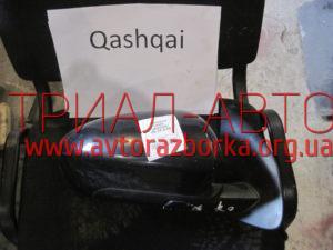 Зеркало правое на Qashqai 2007-2013 г.в.