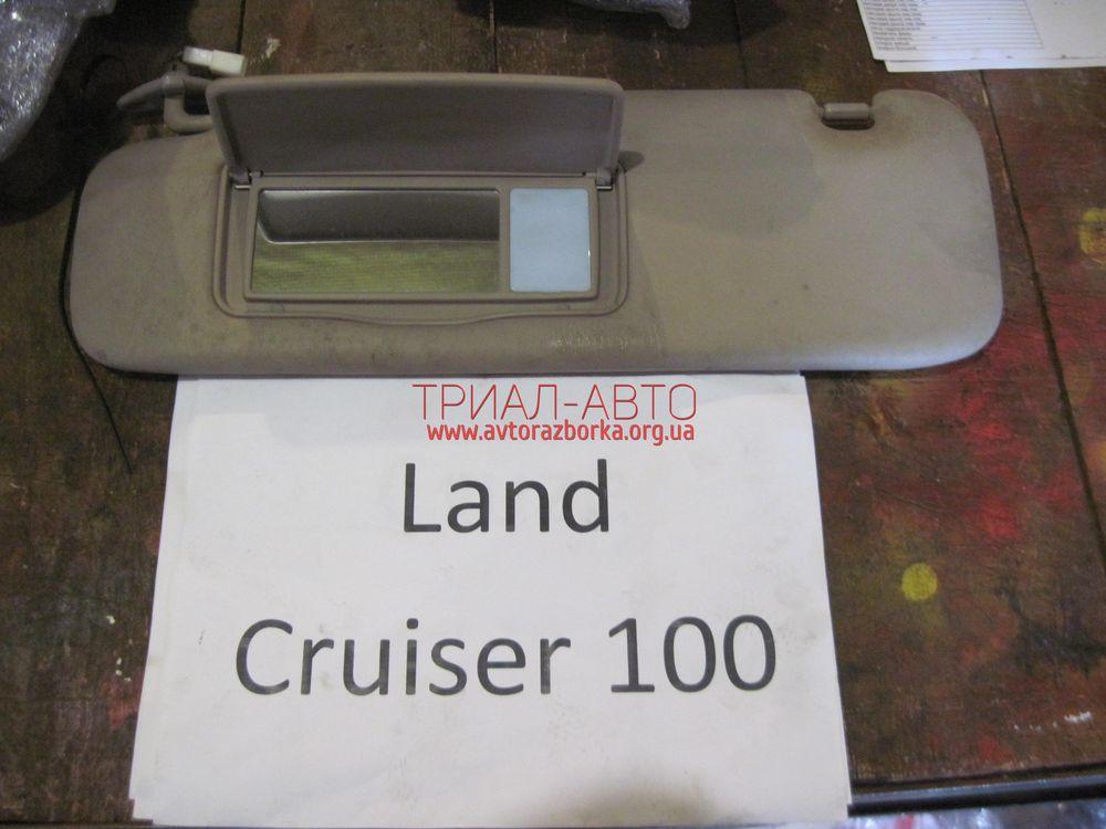 Козырек солнцезащитный на Land Cruiser 100 1998 — 2006 г.в.