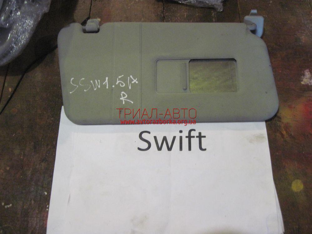 Козырек солнцезащитный на Swift 2005-2010 г.в.