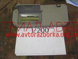 Козырек солнцезащитный на L200 2006-2012 г.в.