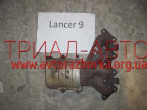 Коллектор выпускной на Lancer 9 2003-2007 г.в.