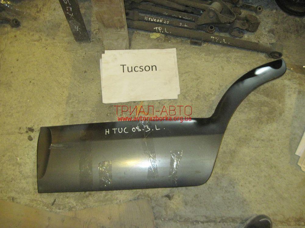 Накладка двери задней на Tucson 2004-2012 г.в.