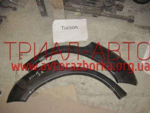Накладка крыла заднего на Tucson 2004-2012 г.в.