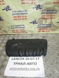 Декоративная крышка ДВС на Lancer 10 2007-2012 г.в.