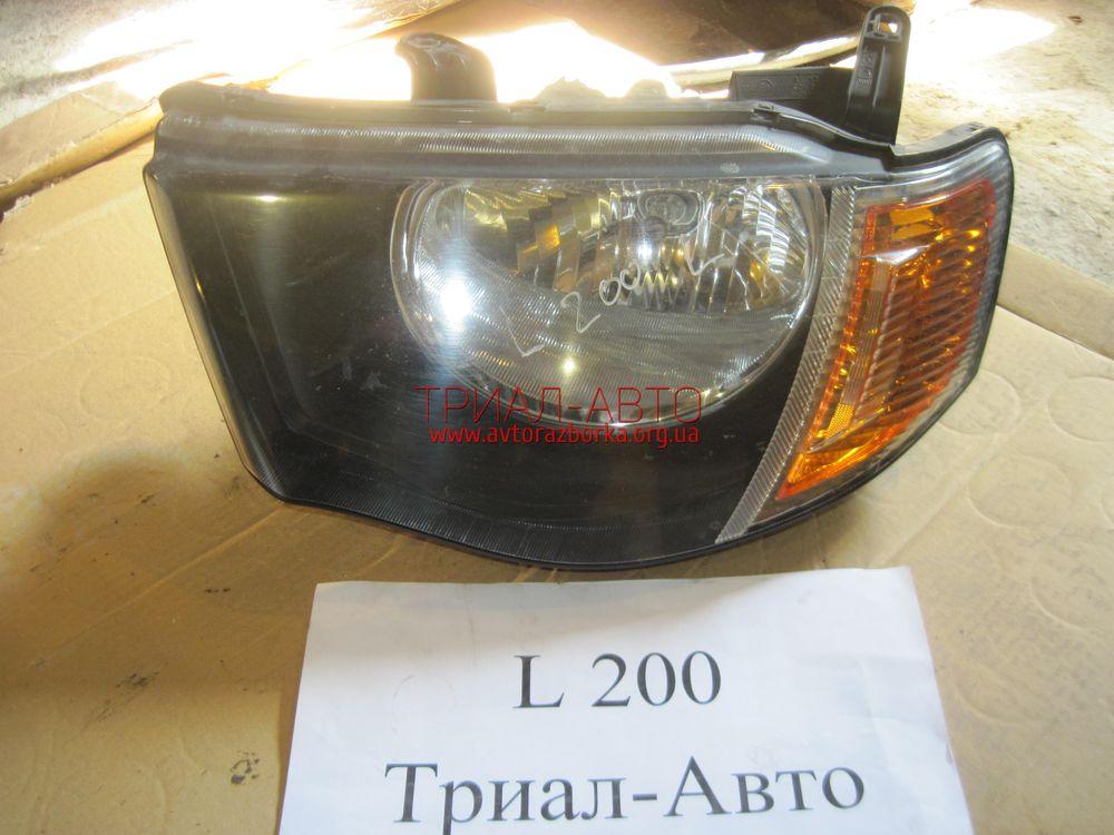 Фара левая на L200 2006-2012 г.в.