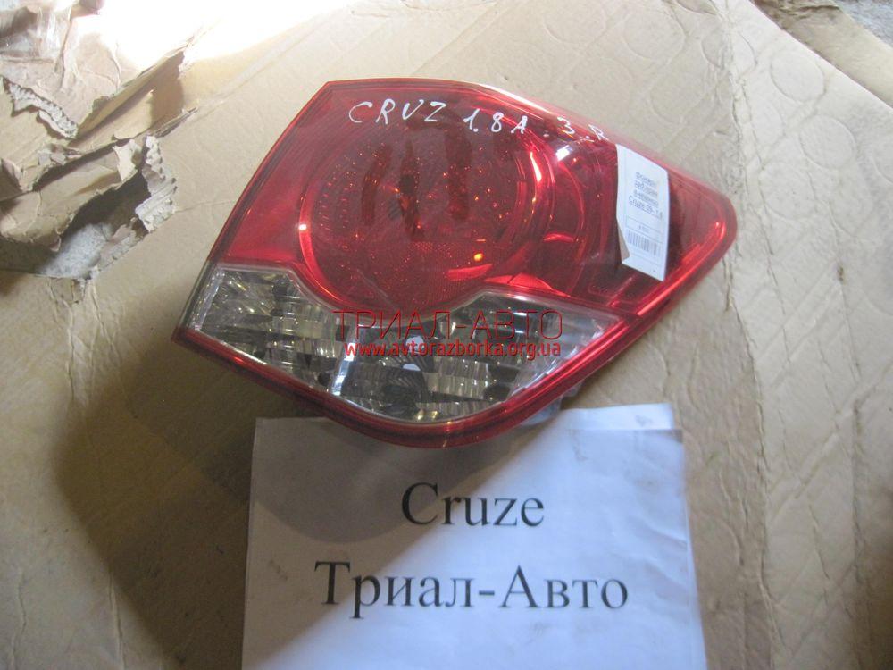 Фонарь внешний правый на Cruze 2009-2016 г.в.