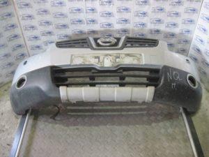 Бампер передний всборе (бампер, усилитель, абсорбер, решетки) на Qashqai 2007-2013 г.в.