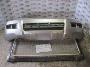 Бампер передний всборе (бампер, усилитель, абсорбер, решетки) на PRADO 120 2003 — 2009 г.в.
