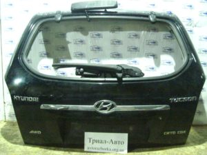 Крышка багажника без стекла на Tucson 2004-2012 г.в.
