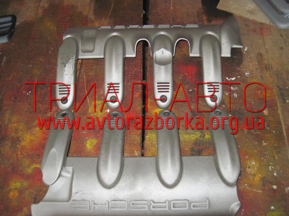 Декоративная крышка двигателя на Porsche Cayenne 2003-2009 г.в.