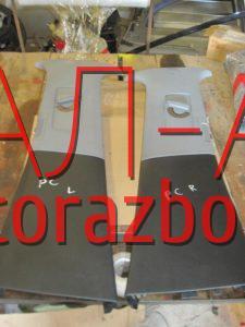 Накладка стойки центральная внутренняя на Porsche Cayenne 2003-2009 г.в.