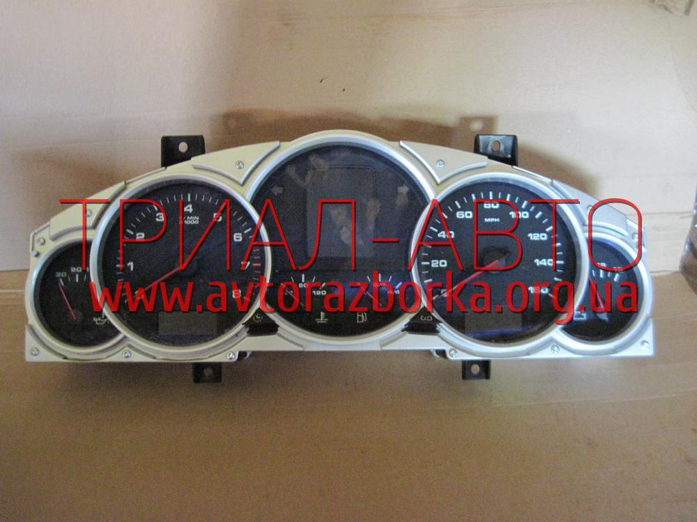 Приборная панель на Porsche Cayenne 2003-2009 г.в.