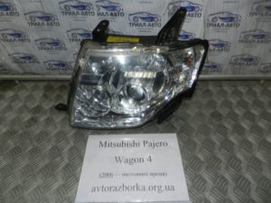 Фара левая ксенон на Mitsubishi Pajero Wagon 4