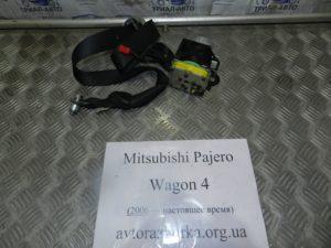 Ремень безопасности левый на Mitsubishi Pajero Wagon 4