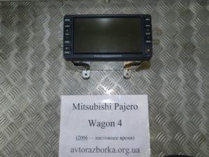 Монитор на Mitsubishi Pajero Wagon 4