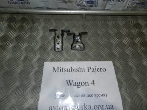 Навесы двери передней левой пара на Mitsubishi Pajero Wagon 4
