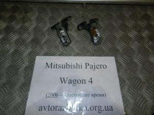 Навесы двери задней левой пара на Mitsubishi Pajero Wagon 4