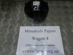 Вентилятор печки 7801A502 на Mitsubishi Pajero Wagon 4