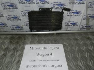 Радиатор коробки автомат на Mitsubishi Pajero Wagon 4