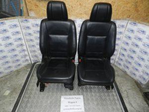 Салон кожаный на Mitsubishi Pajero Wagon 4