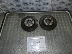 Диски тормозные передние пара 4615A038 на Mitsubishi Pajero Wagon 4