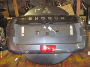 Чехол запаски на Mitsubishi Pajero Wagon 4