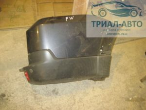 Бампер задний клык на Mitsubishi Pajero Wagon 4