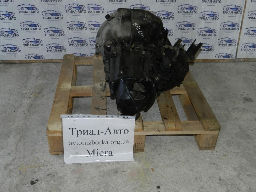 Коробка передач на Nissan Micra